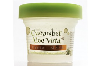 Aloë vera- komkommer  gezichtsmasker