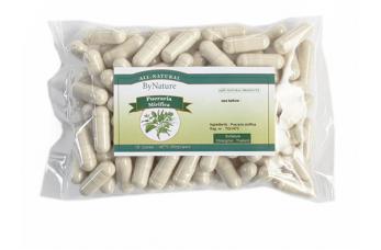 100 Pueraria capsules in folie verpakking